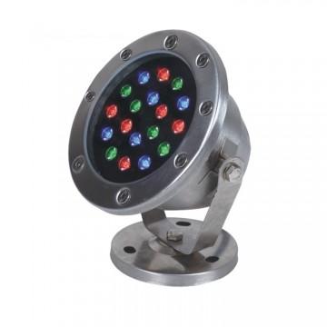 Đèn âm nước màu ánh sáng đổi mầu 18W Thiên Phú VAN-RGB-18