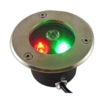 Đèn LED âm đất 3W RGB Thiên Phú VT-LED-03-RGB