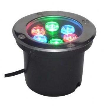 Đèn LED âm đất 6W RGB Thiên Phú VT-LED-06-RGB