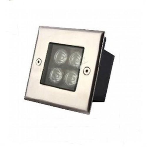 Đèn LED Âm Đất Vuông Công Suất 4W VSL-ADV04